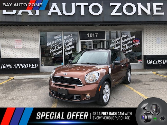 Certified 2014 MINI Paceman Cooper S AWD+DOUBLE ROOF+HEATING SEATS SUV in Toronto