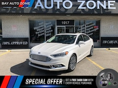2018 Ford Fusion Hybrid Platinum+VENTED SEATS+NAVI+REAR CAM+SUNROOF Sedan