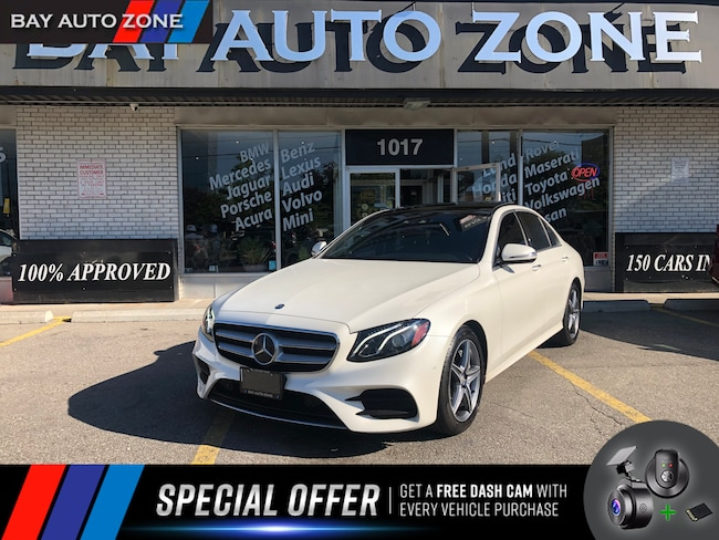 Certified 2017 Mercedes-Benz E-Class E400 4MATIC AMG PKG+NAVI+PANO ROOF+DRIVE ASSIST Sedan in Toronto