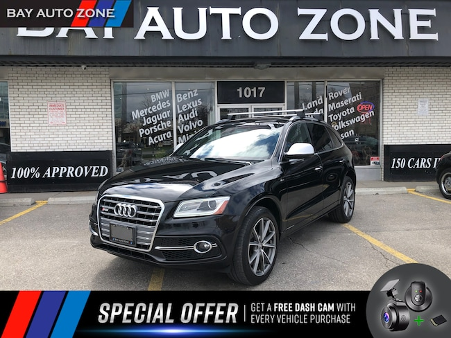 Certified 2016 Audi SQ5 3.0T+PANO ROOF+NAVIGATION+R CAM SUV in Toronto