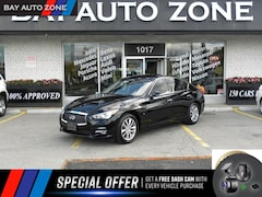 2014 INFINITI Q50 AWD NAVI+R CAM+SUNROOF Sedan