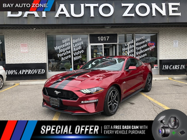 Certified 2018 Ford Mustang GT FASTBACK+NAVI+REAR CAM+VENT SEATS Coupe in Toronto