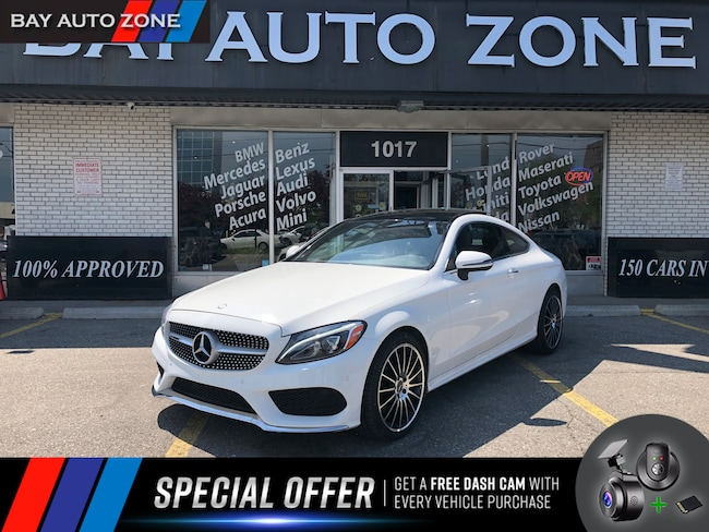 Used 2017 Mercedes-Benz C-Class White For Sale Toronto ON