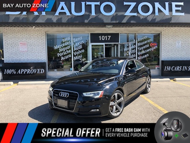 Certified 2014 Audi A5 2.0T S-LINE/NAVIGATION/PANO ROOF Coupe in Toronto