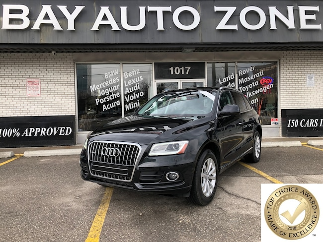 Certified 2015 Audi Q5 2.0T NAVI/REAR CAM/PANO ROOF/PARKING SENSORS SUV in Toronto