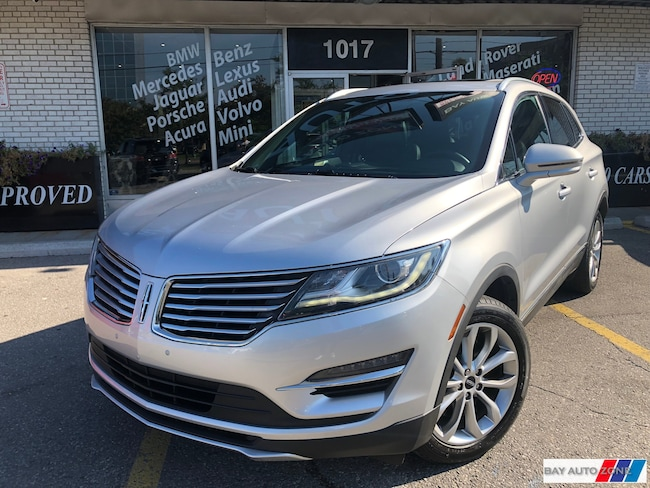 Used 2015 Lincoln Mkc Silver For Sale Toronto On Bay Auto Zone