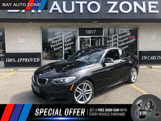 Certified 2016 BMW 228i M SPORT PKG/NAVI/REAR CAM/SUNROOF/6 SPEED Coupe in Toronto