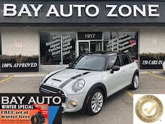 2017 MINI Cooper 5 Door Cooper S+REAR CAM+SUNROOF Hatchback