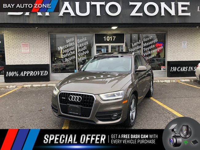 Certified 2015 Audi Q3 2.0T QUATTRO+NAVIAGTION+SUNROOF SUV in Toronto