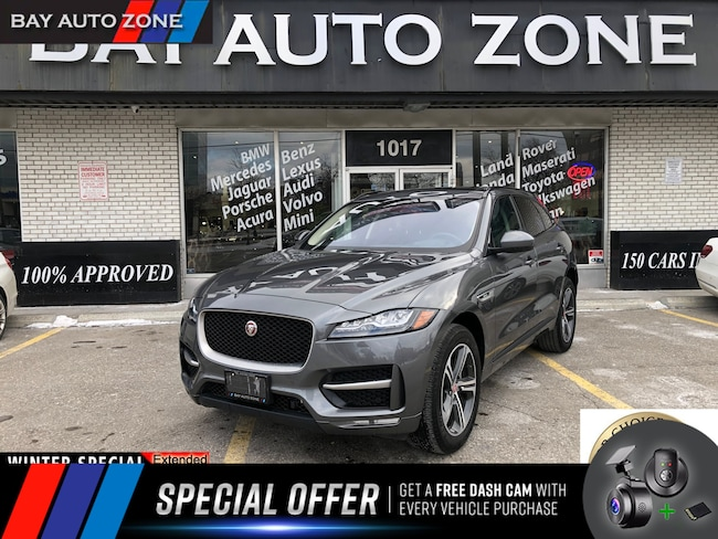 Certified 2018 Jaguar F-Pace 25t R-Sport+MERIDIAN SOUND+NAVIGATION+REAR CAM SUV in Toronto