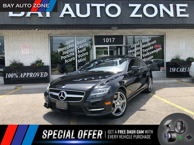 Certified 2014 Mercedes-Benz CLS 550 AMG PKG/4MATIC/NAVI/R CAM/H&K/DRIVE ASSIST Sedan in Toronto