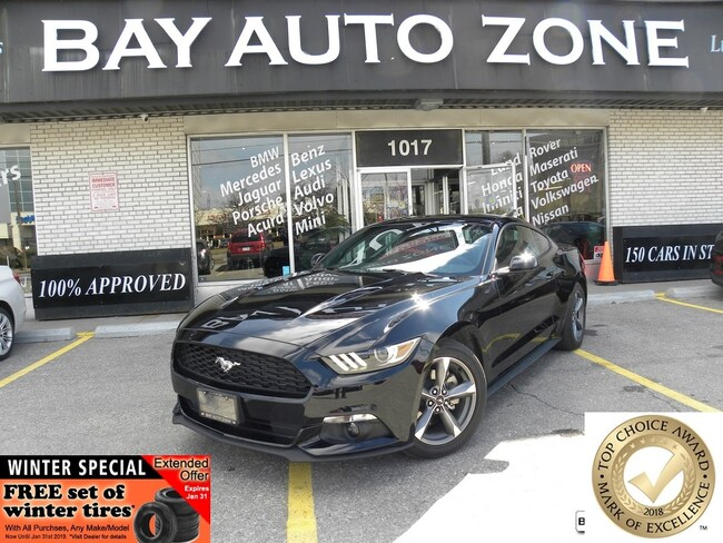 Certified 2017 Ford Mustang V6+NAVIGATION+REAR VIEW CAMERA Coupe in Toronto