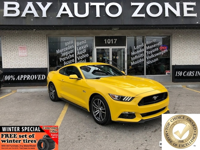 Certified 2017 Ford Mustang GT Premium+NAVI+REAR CAM+TOUCH DISPLAY Coupe in Toronto