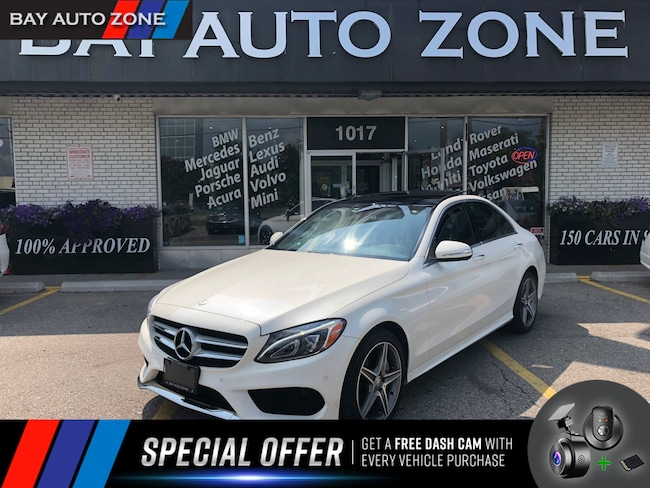 Certified 2015 Mercedes-Benz C-Class C300 AMG PKG+ 4 MATIC+NAVIGATION+REAR CAM+SUNROOF Sedan in Toronto