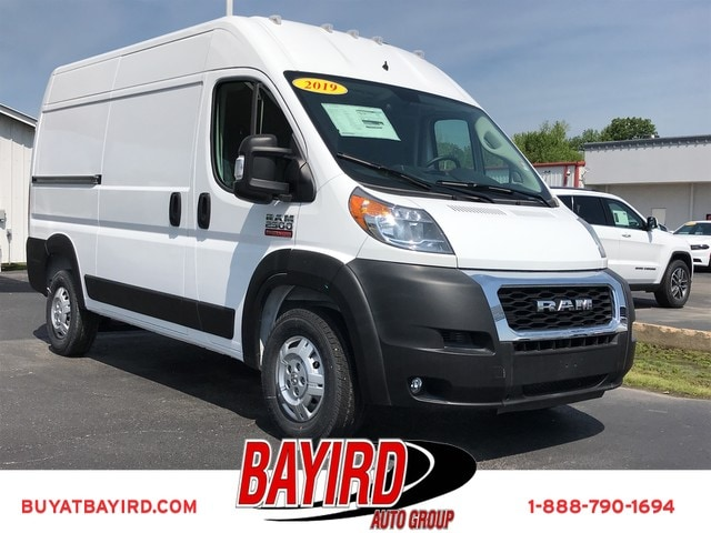 Featured New 2019 Ram ProMaster 2500 CARGO VAN HIGH ROOF 136 WB Cargo Van for sale near you in Kennett, MO