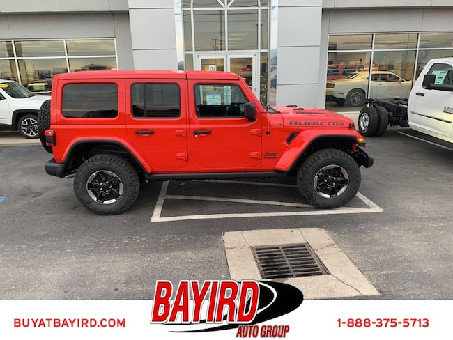New 2019 Jeep Wrangler UNLIMITED RUBICON 4X4 Sport Utility Kennett