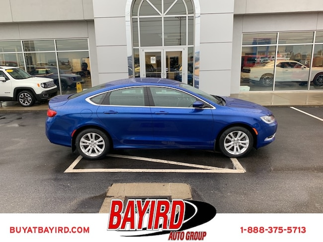 Used 2015 Chrysler 200 Limited Sedan Kennett