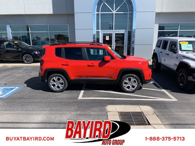 New 2019 Jeep Renegade LATITUDE 4X4 Sport Utility Kennett