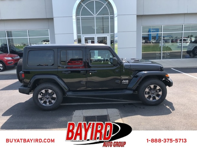 New 2018 Jeep Wrangler UNLIMITED SAHARA 4X4 Sport Utility Kennett