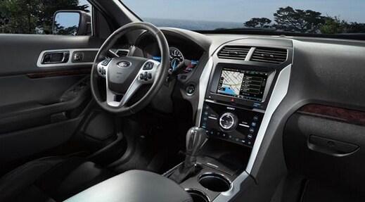 ford explorer dashpng - Ford Explorer Sport 2015 Magnetic