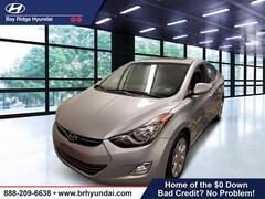 2012 Hyundai Elantra Limited w/PZEV (A6) Sedan