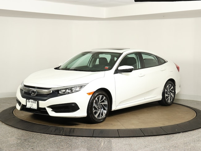 Used 2016 Honda Civic Sedan EX CVT EX Brooklyn NY