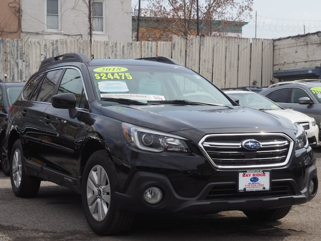 Ceritifed Pre-Owned 2018 Subaru Outback 2.5i Premium with Starlink SUV Brooklyn