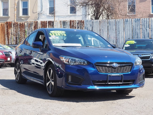 Used 2018 Subaru Impreza 2.0i Sport with Eyesight, Moonroof, Blind Spot Detection & Starlink Sedan Brooklyn