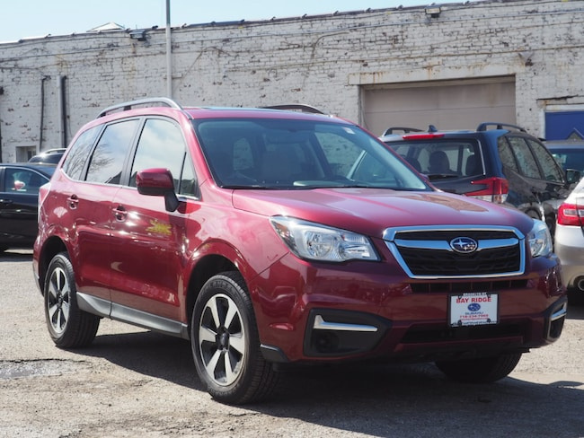 Ceritifed Pre-Owned 2018 Subaru Forester 2.5i Premium with All Weather Package + Starlink SUV Brooklyn