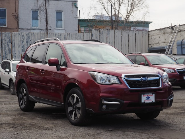 Ceritifed Pre-Owned 2018 Subaru Forester 2.5i Limited with Starlink + Nav SUV Brooklyn