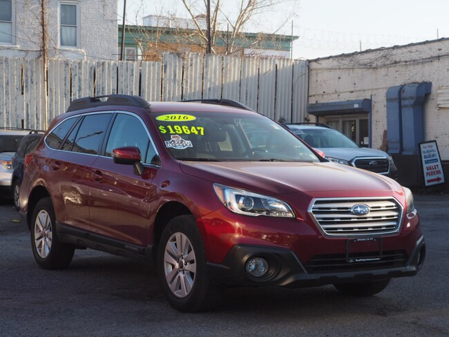 2016 Subaru Outback 2.5i Premium w/ EyeSight + Blind Spot Det + Rear X-Traffic Alert + Power Rear Gate SUV