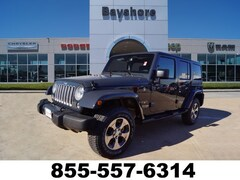 2018 Jeep Wrangler JK Unlimited SAHARA Sport Utility for sale in Baytown, TX at Bayshore Chrysler Jeep Dodge Ram