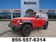 2018 Jeep Wrangler Unlimited SPORT Sport Utility for sale in Baytown, TX at Bayshore Chrysler Jeep Dodge Ram