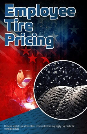 Employee Tire Pricing