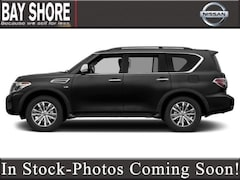 New 2019 Nissan Armada Platinum SUV for Sale in Long Island NY at Nissan of Bay Shore