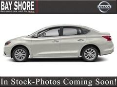 New 2019 Nissan Sentra SV Sedan 19BN2177 for Sale near Dix Hills, NY, at Nissan of Bay Shore