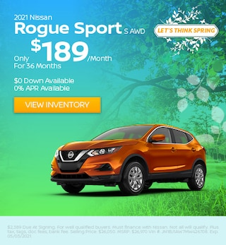 2021 Nissan Rogue Sport
