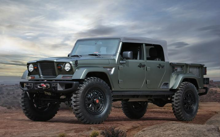 Jeep Reveals Seven Concept Vehicles for the 50th Annual Easter Jeep