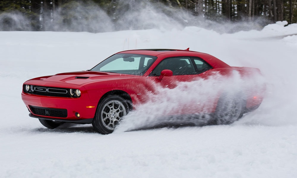 2017 Dodge Challenger GT Keeps the Muscle Car Running in Winter