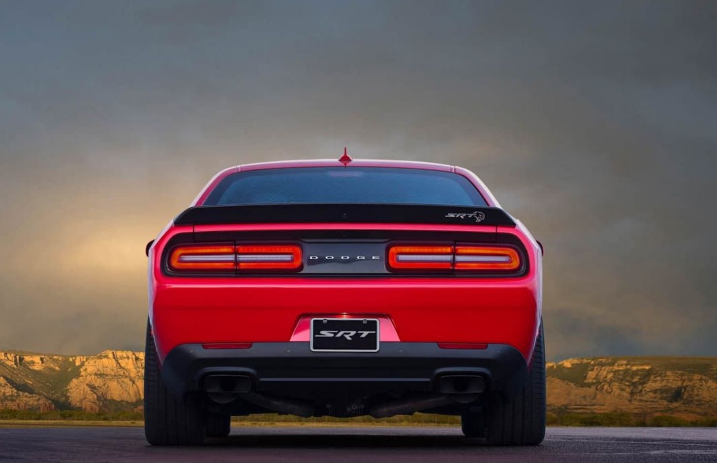 2018 Dodge Demon Rear View - Bayside Chrysler Jeep Dodge