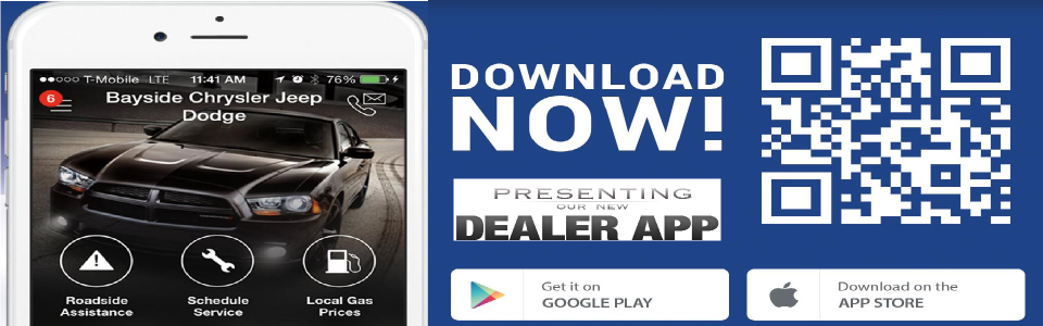 Bayside Chrysler Jeep Dodge Mobile App - Chrysler roadside assistance
