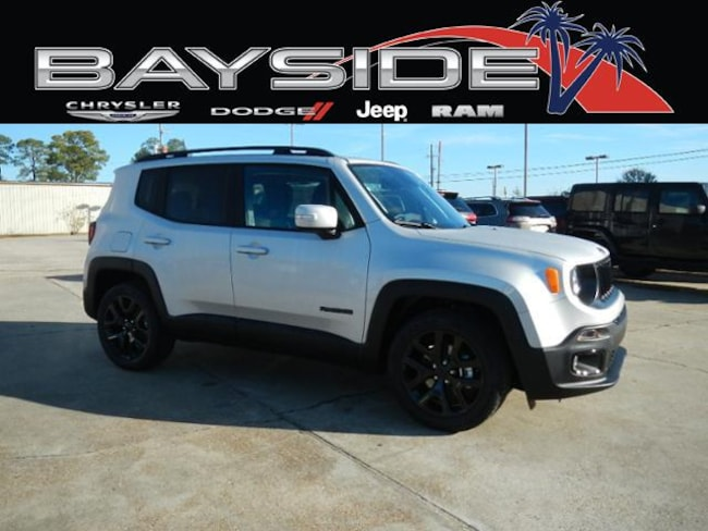 New 2018 Jeep Renegade ALTITUDE 4X2 Sport Utility near Biloxi, MS