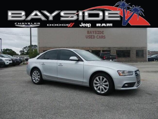 Used 2014 Audi A4 2.0T Premium (Multitronic) Sedan near Biloxi, MS