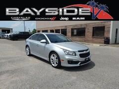 Used 2015 Chevrolet Cruze For Sale Near Biloxi