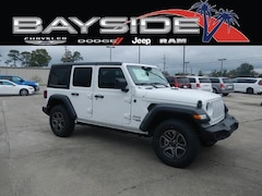 New 2018 Jeep Wrangler UNLIMITED SPORT S 4X4 Sport Utility 1C4HJXDG3JW319844 near Biloxi, MS