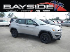 New 2019 Jeep Compass SPORT FWD Sport Utility 3C4NJCAB4KT615046 near Biloxi, MS