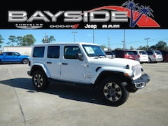 New 2018 Jeep Wrangler UNLIMITED SAHARA 4X4 Sport Utility 1C4HJXEG8JW330272 near Biloxi, MS