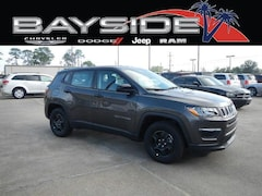 New 2019 Jeep Compass SPORT FWD Sport Utility 3C4NJCAB6KT615047 near Biloxi, MS