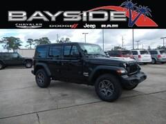 2018 Jeep Wrangler UNLIMITED SPORT S 4X4 Sport Utility For Sale Near Biloxi