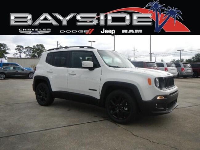 New 2018 Jeep Renegade ALTITUDE 4X2 Sport Utility near Biloxi, MS
